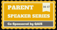 QAIS Parent Speaker Series logo