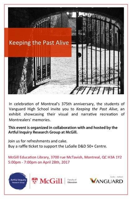 Keeping the Past Alive Invitation Vanguard_AIRG