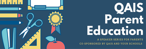 page banner for parent education event
